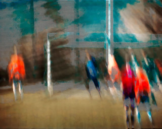THE CHURCH OF FOOTBALL // ISLAND SERIES 2002                                                       126 X 158 CM // 50 X 62 IN // SET OF 5+2AP